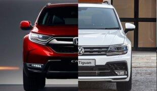 Honda CR-V ou Volkswagen Tiguan? | Em números