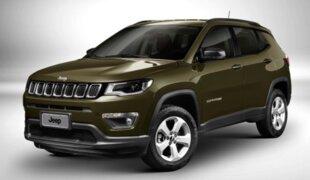 Na quinzena, Jeep Compass encosta no VW Polo em vendas