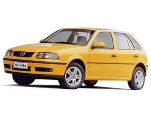 Volkswagen Gol Turbo Plus 1.0 MI 16V 2000