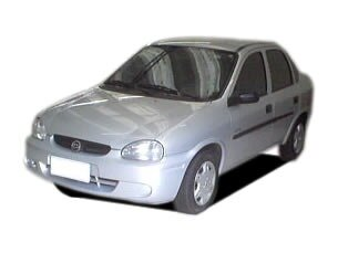 Chevrolet Corsa Sedan Super Milenium 1.0 MPFi 16V 2001