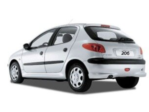 Peugeot 206 Hatch. 1.4 8V (flex) 2008