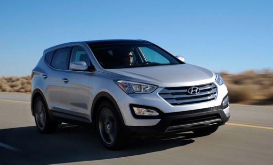 Hyundai Santa Fe 3.3L V6 4x4 (Aut) 7L 2014