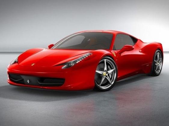 Marvelous Ferrari 458 Italia Spider 4.5 V8 2013
