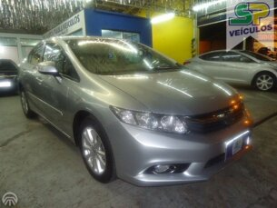 Awesome Honda New Civic LXS 1.8 16V I VTEC (Aut) (Flex)