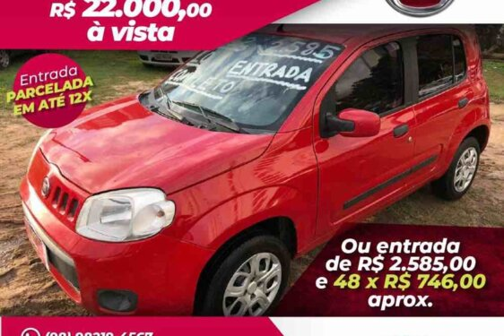 FIAT UNO VIVACE 1.0 8V  FLEX  2P