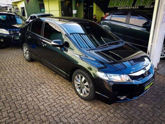 HONDA NEW CIVIC LXL 1.8 16V  COURO   AUT   FLEX