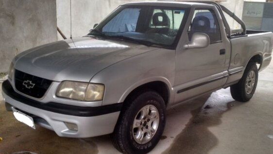 CHEVROLET S10 LUXE 4X2 4.3 SFI V6  CAB SIMPLES