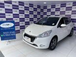 Peugeot 208 Active Pack 1.5 8V (Flex) 2015/2016 4P Branco Flex