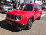 Jeep Renegade Longitude 1.8 (Aut) (Flex) 2015/2016 4P Vermelho Flex