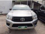 Toyota Hilux 2.8 TDI CD STD Narrow 4x4 2018/2019 4P Prata Diesel