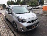 Nissan March 1.6 16V SL (Flex) 2014/2015 5P Prata Flex