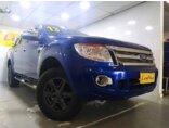 Ford Ranger 3.2 TD 4x4 CD XLT 2012/2013 4P Azul Diesel