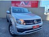 Volkswagen Amarok 2.0 CD 4x4 TDi Trendline (Aut) 2018/2018 4P Prata Diesel