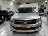 Volkswagen Amarok 2.0 CD 4x4 TDi Trendline 2015/2015 4P Prata Diesel