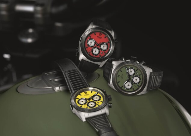 bcd7ee15cfe Novo relógio Tudor Fastrider é mais um item da extensa linha de acessórios  da família de motos retrô da Ducati