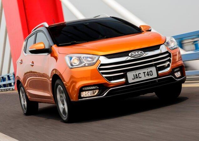 JAC T40  preço, ficha técnica e equipamentos do novo SUV - Notícias ... 5d1be05b80
