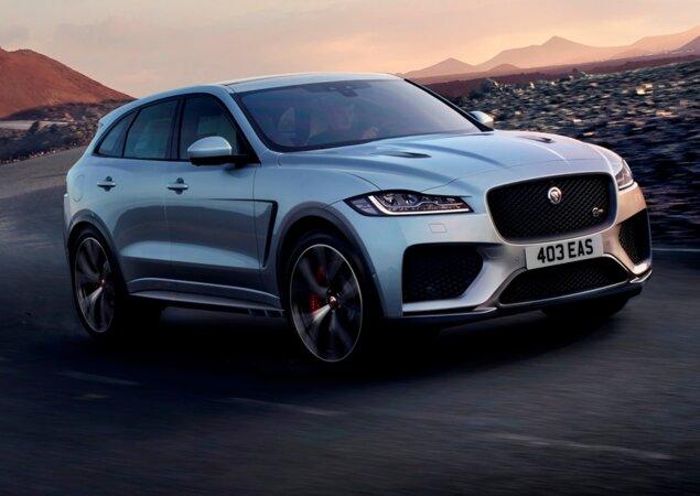 Jaguar Apresenta O F Pace SVR