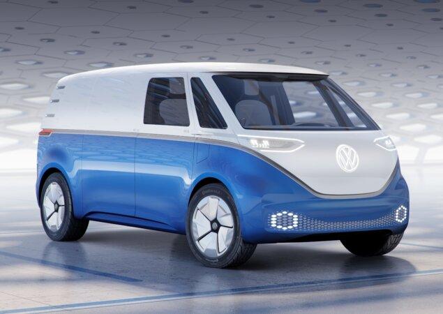 Volkswagen I.D. Buzz Cargo antecipa nova Kombi Furgão