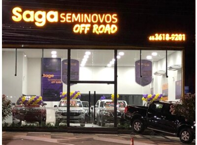 Saga Seminovos Off Road MT