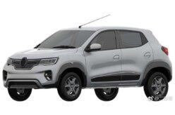 Renault Kwid elétrico tem visual vazado e difere do conceito
