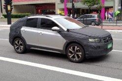 Volkswagen Nivus é flagrado em testes com pouca camuflagem