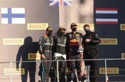 Hamilton conquista 90ª vitória em corrida tumultuada na F1