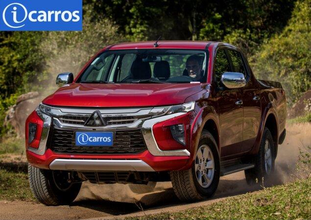 3a1dd84b3437a Flagrada em testes no sul da Austrália, a Mitsubishi L200 Triton Sport 2019  reestilizada já circula com pouca camuflagem. O modelo receberá importantes  ...