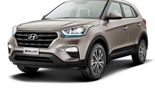 Hyundai Creta cresce e é o 2º SUV mais vendido de julho