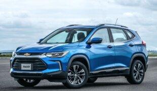 Chevrolet Tracker lidera ranking dos SUVs mais vendidos